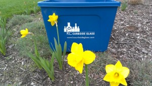 Curbside Glass Recycling Service Available For entire city of Olathe