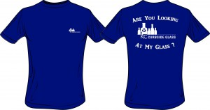 """KC Curbside Glass - """"Are You Looking At My Glass?"""" T-Shirt"""