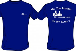 KC Curbside Glass T-Shirts For Charity