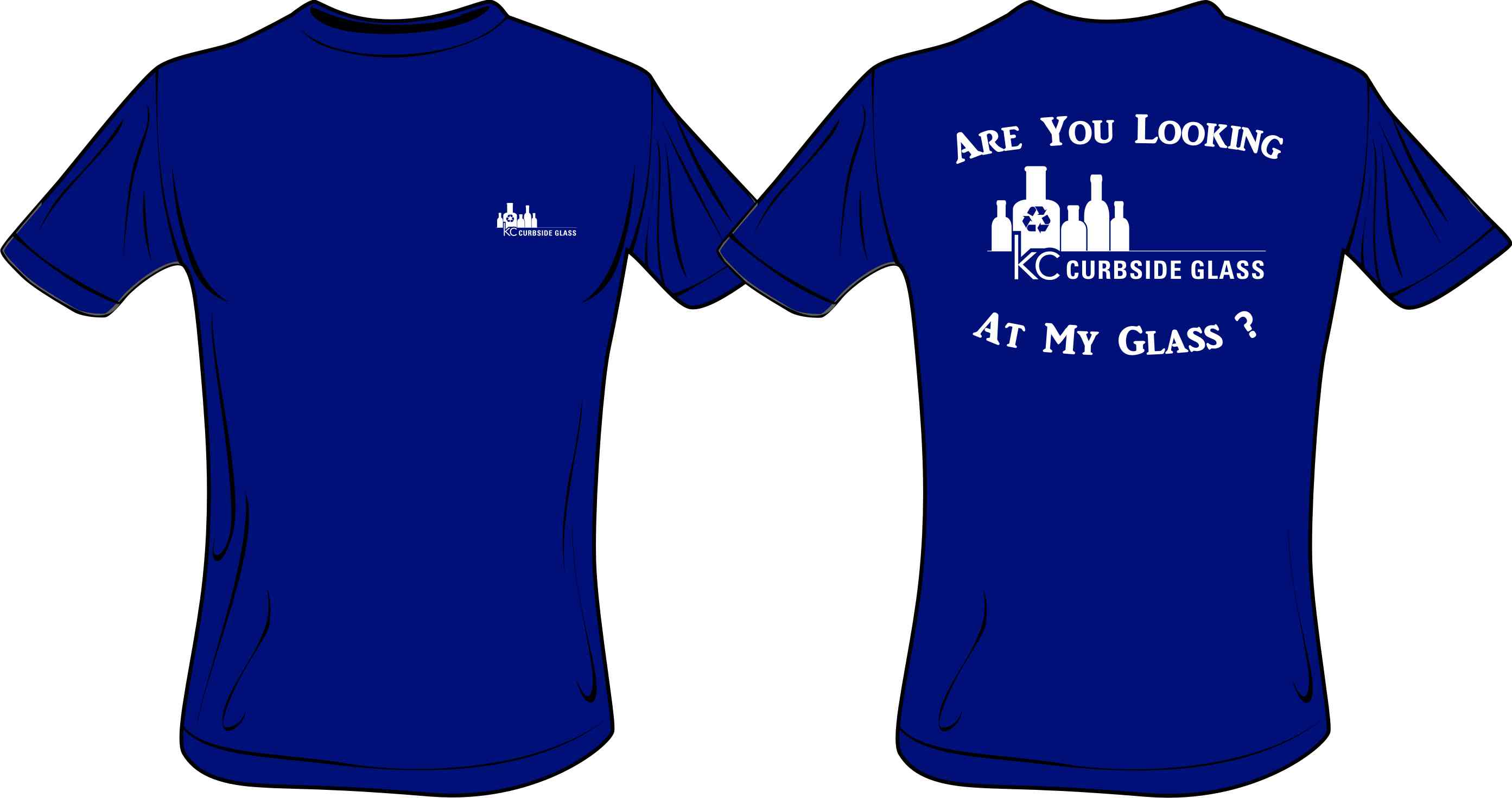 Kansas city curbside glass recycling news kc curbside glass for Shirts that donate to charity